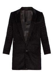 Bless Single Breasted Corduroy Blazer Black