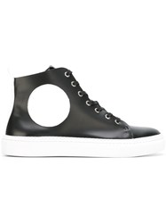 Mcq By Alexander Mcqueen Hi Top Sneakers Black