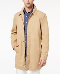Ryan Seacrest Distinction Men's Slim Fit Tan Trench Coat Created For Macy's