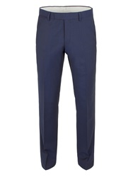 Racing Green Twill Weave Tailored Fit Trouser Blue
