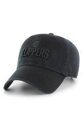 '47 Women's Brand Los Angeles Clippers Baseball Hat Black