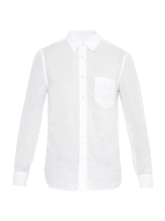 120 Lino Point Collar Linen Shirt