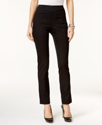 Styleandco. Style Co. Petite Patch Pocket Pull On Pants Only At Macy's Deep Black