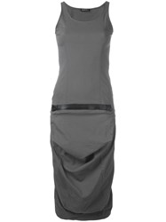 Rundholz Fitted Dress Grey