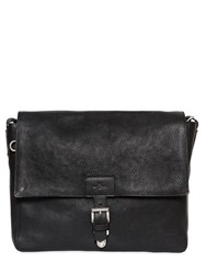 Etro Tumbled Leather Messenger Bag