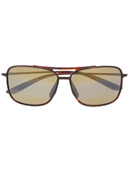 Maui Jim Mj437 10 Synthetic Acetate Brown