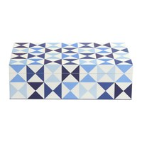 Jonathan Adler Sorrento Trinket Box Blue