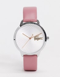 Lacoste Analogue Classic Quartz Watch In Pink