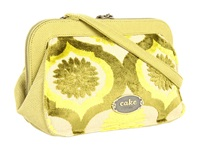 Petunia Pickle Bottom Cosmo Clutch Key Lime Cream Cake Clutch Handbags Green