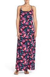 Women's Tommy Bahama 'Birds Of Paradise' Cross Back Dress Swimsuit Cover Up