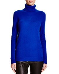 C By Bloomingdale's Turtleneck Cashmere Sweater True Blue