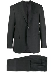Corneliani Single Breasted Suit Grey