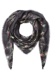 Zadig And Voltaire Printed Scarf Multicolor