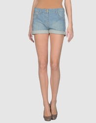 Paul And Joe Sister Denim Shorts Blue