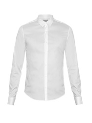 Wooyoungmi Fold Collar Long Sleeved Shirt