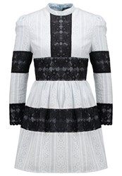 Sister Jane Cocktail Dress Party Dress Black White Off White