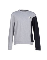 Bikkembergs Topwear Sweatshirts Men Grey