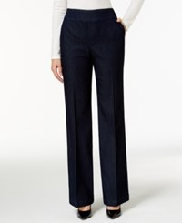 Styleandco. Style And Co. Bootcut Pull On Black Wash Trouser Jeans Only At Macy's
