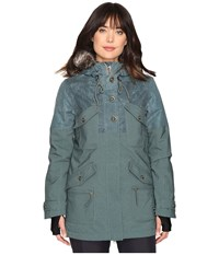 O'neill Clip Jacket Balsam Green Women's Coat Gray