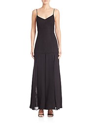 Jason Wu Sheer Inset Gown Black