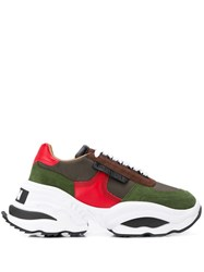 Dsquared2 The Giant Sneakers Green
