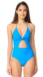 6 Shore Road By Pooja Divine Swimsuit Horizon Blue