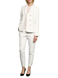 French Connection Sundae Suiting Trousers Summer White