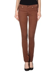 Ag Adriano Goldschmied Casual Pants Brown
