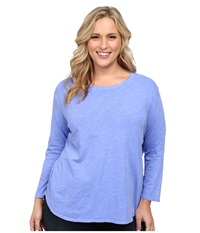 Fresh Produce Plus Size Catalina Shirt Periwinkle Women's Clothing Blue