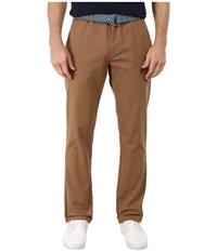 Vineyard Vines Garment Dyed Breaker Pants Otter Men's Casual Pants Brown