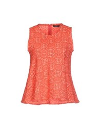 New York Industrie Topwear Tops Women Coral
