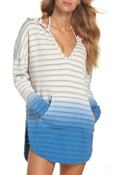 Green Dragon Women's Set Sail Angie Cover Up Hooded Tunic Indigo