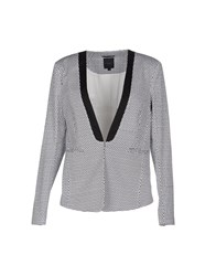 Silvian Heach Suits And Jackets Blazers Women White
