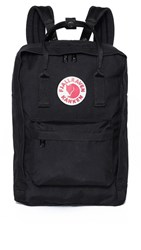 Fjall Raven Fjallraven Kanken 15 Laptop Backpack Black
