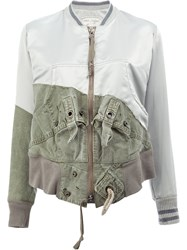Greg Lauren Tent Flight Jacket Green
