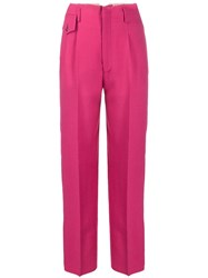 Golden Goose Contrast Side Panel Trousers Pink