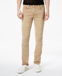 Guess Men's Skinny Fit Stretch Jeans Honey Pie Wash