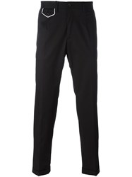 Dolce And Gabbana Crown Chinos Black