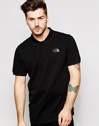 The North Face Polo Shirt With Logo Black