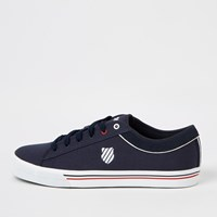 K Swiss Navy Lace Up Trainers