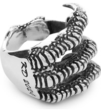 Kd2024 Claw Sterling Silver Ring