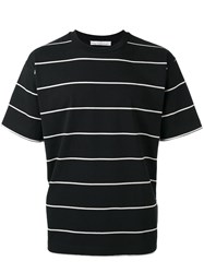 Golden Goose Deluxe Brand Stripe T Shirt Black