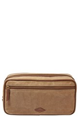 Men's Fossil Canvas Travel Kit