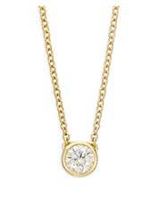Hearts On Fire 18K Yellow Gold And Diamond Pendant Necklace