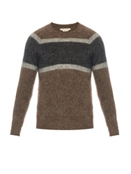 Marc Jacobs Striped Mohair Blend Sweater