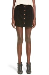 Women's Minkpink 'Don't Think So' Corduroy Miniskirt