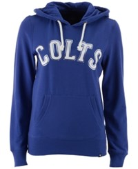 47 Brand '47 Women's Indianapolis Colts Cross Check Shimmer Hoodie Blue