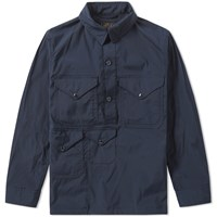 Beams Plus Multi Pocket Smock Blue