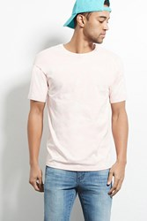 Forever 21 Quintin Bleach Dyed Tee Pink