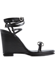 Opening Ceremony 'Kali' Wedge Sandals Black